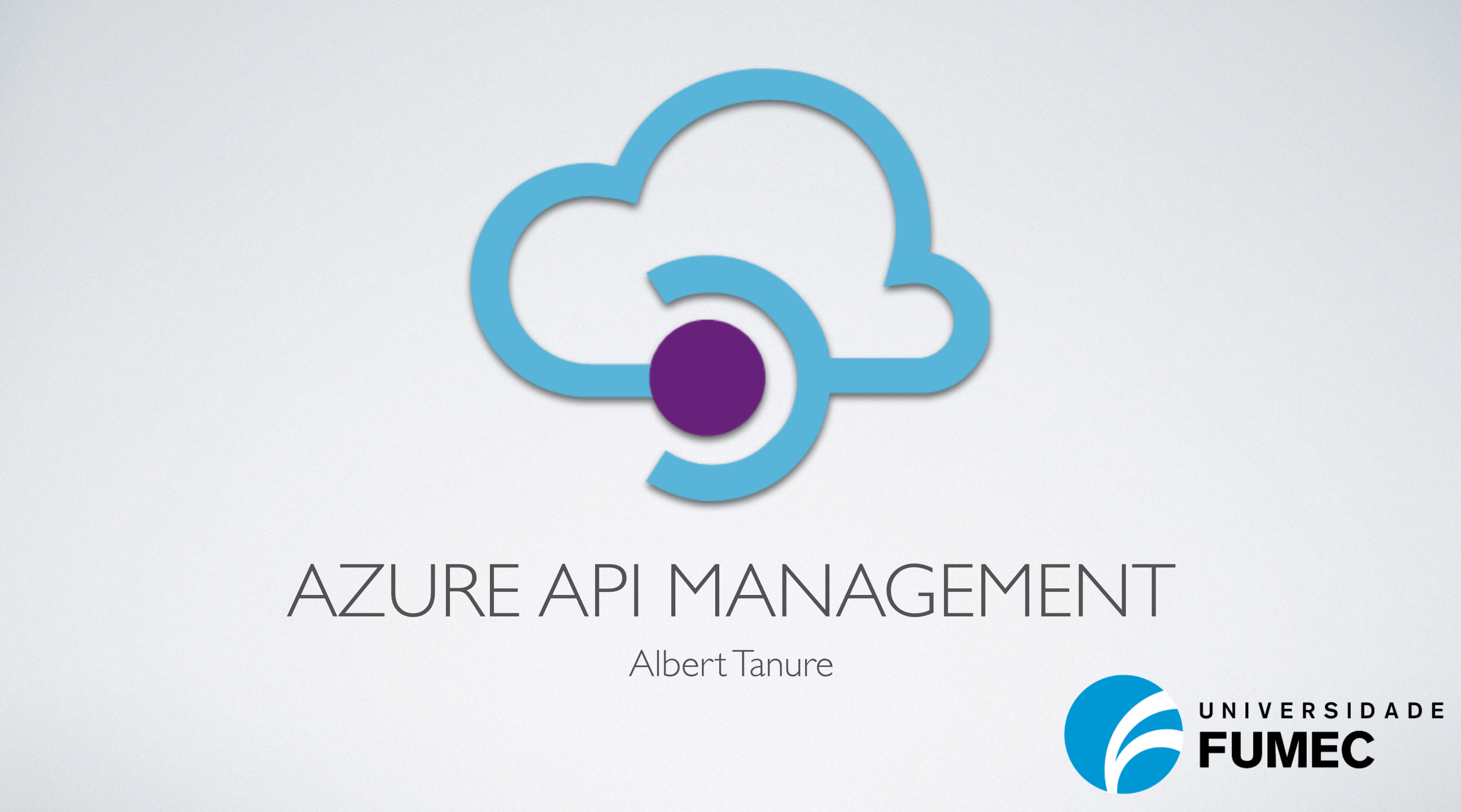 Azure API Management – Universidade Fumec